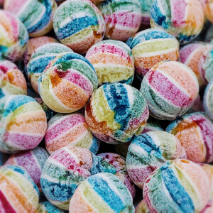 Bonbon Exotic Unicorn Balls – kandiert