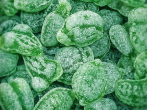 Bonbon Grüne Caipirinha