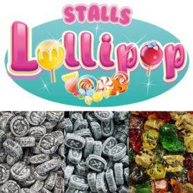 Sparangebot Lakritzbonbons Stalls Lollypop
