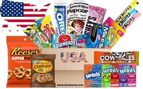 USA Box Miami Süssigkeitenbox