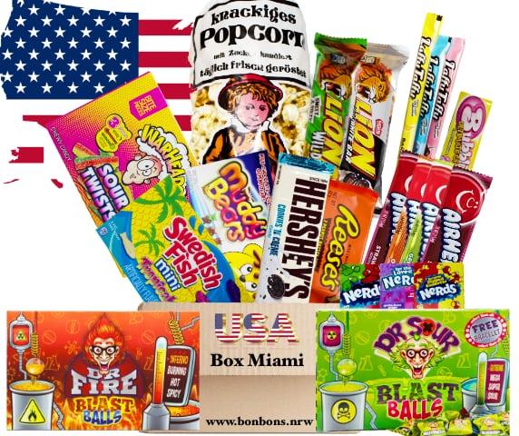 amerikanische Süßigkeiten