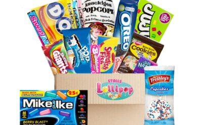 usa Süßigkeiten box