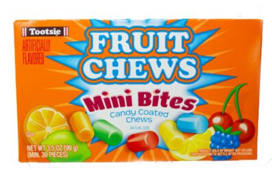 tootsie fruit chews mini bites