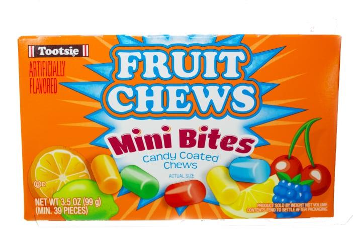 tootsie fruit chews mini bites