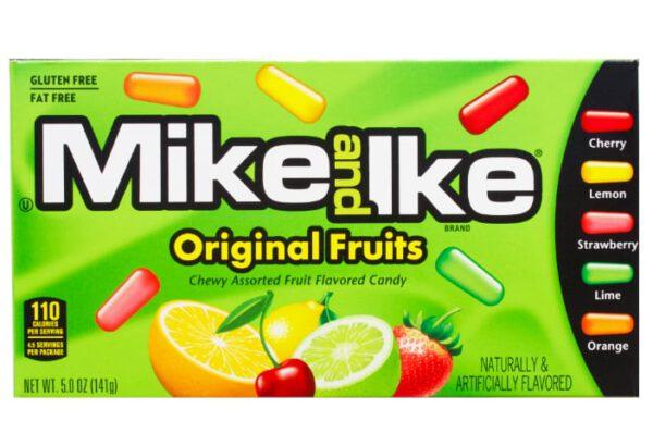 mike & ike original fruits