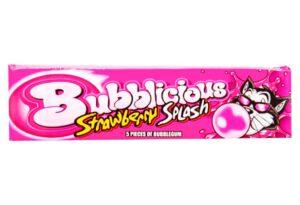 bubblicious strawberry splash