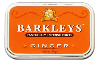 barkley's tin ginger