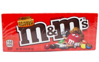 m&m peanutbutter