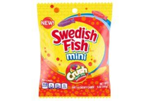 swedish fish minis crush