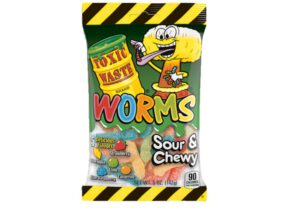 toxic waste worms