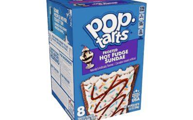pop tarts frosted hot fudge sundae