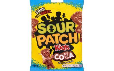 Sour patch kids cola